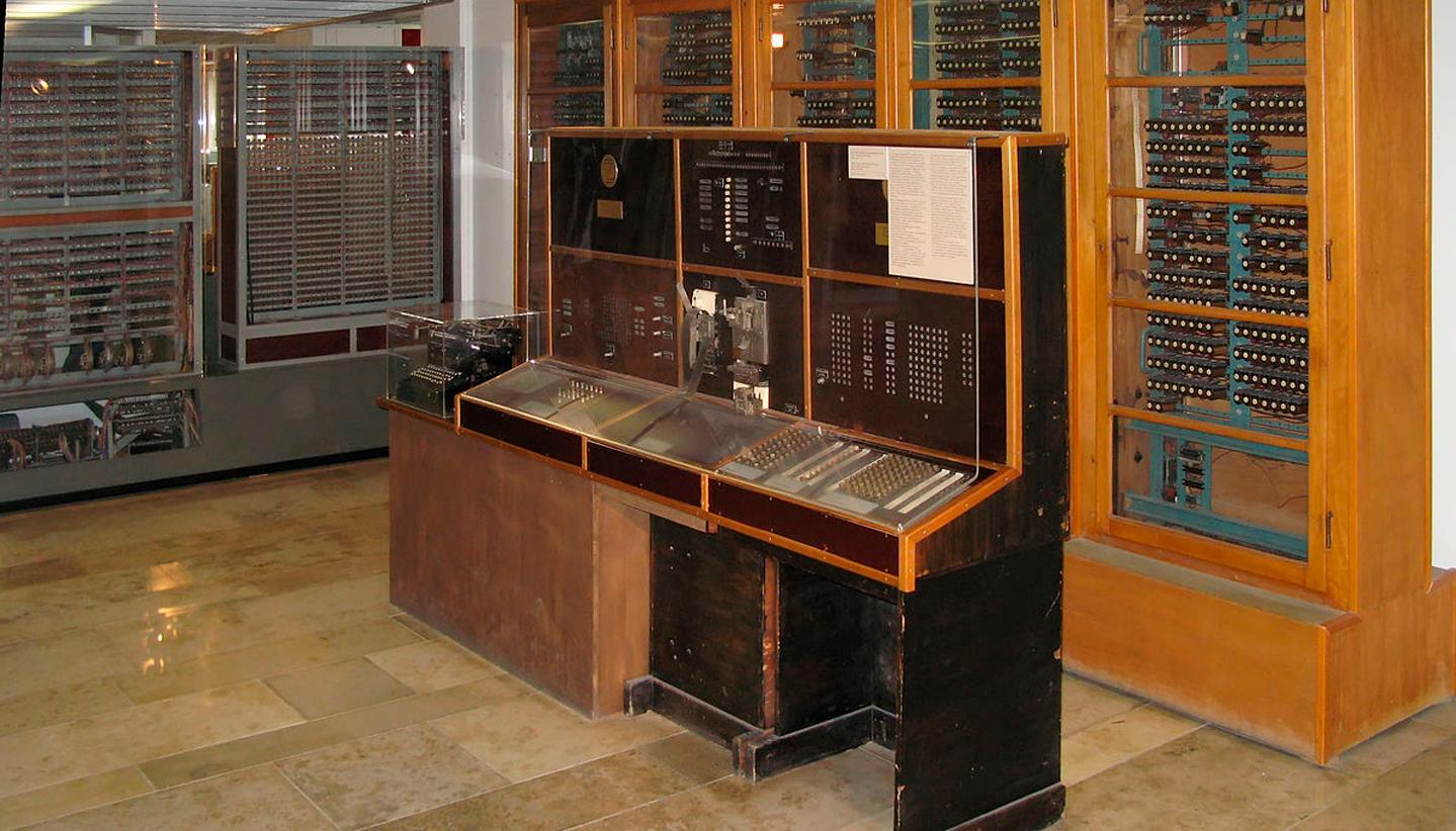 компьютер Z4 для первого языка программирования Plankalkül (Планкалкюль)