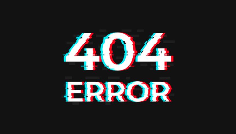 error 404, ошибка 404